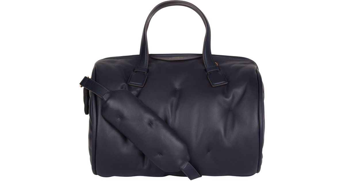 Chubby Barrel Bag in Steam Quilted Calf Leather Anya Hindmarch JfK03MkT
