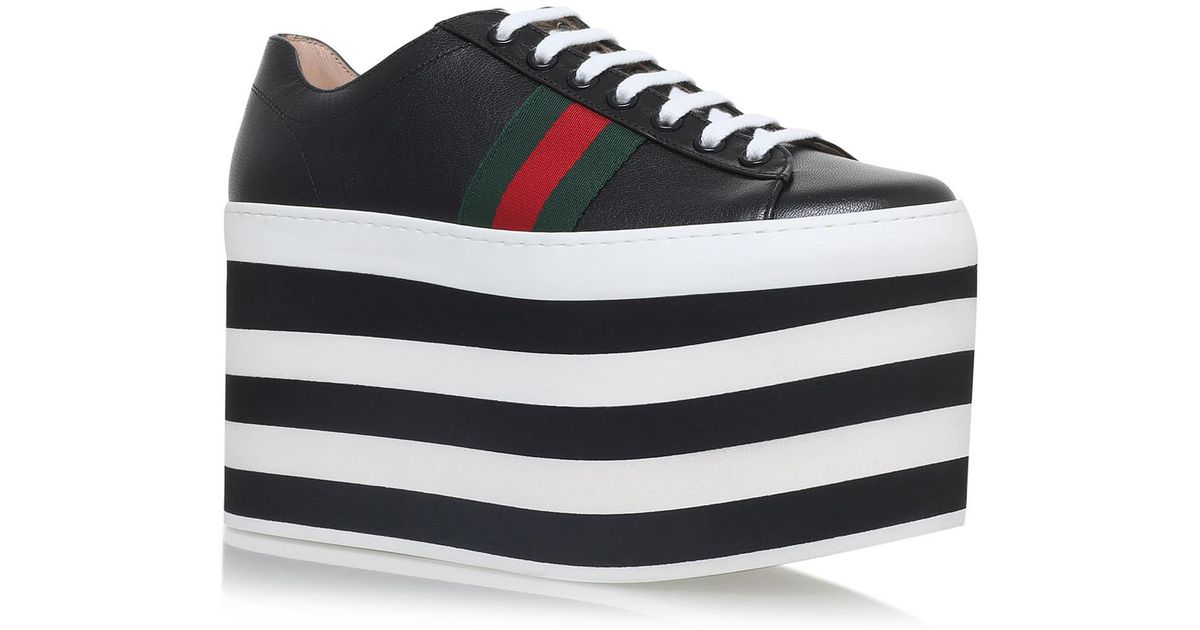 cc4984923abf Lyst - Gucci Peggy Platform Sneakers