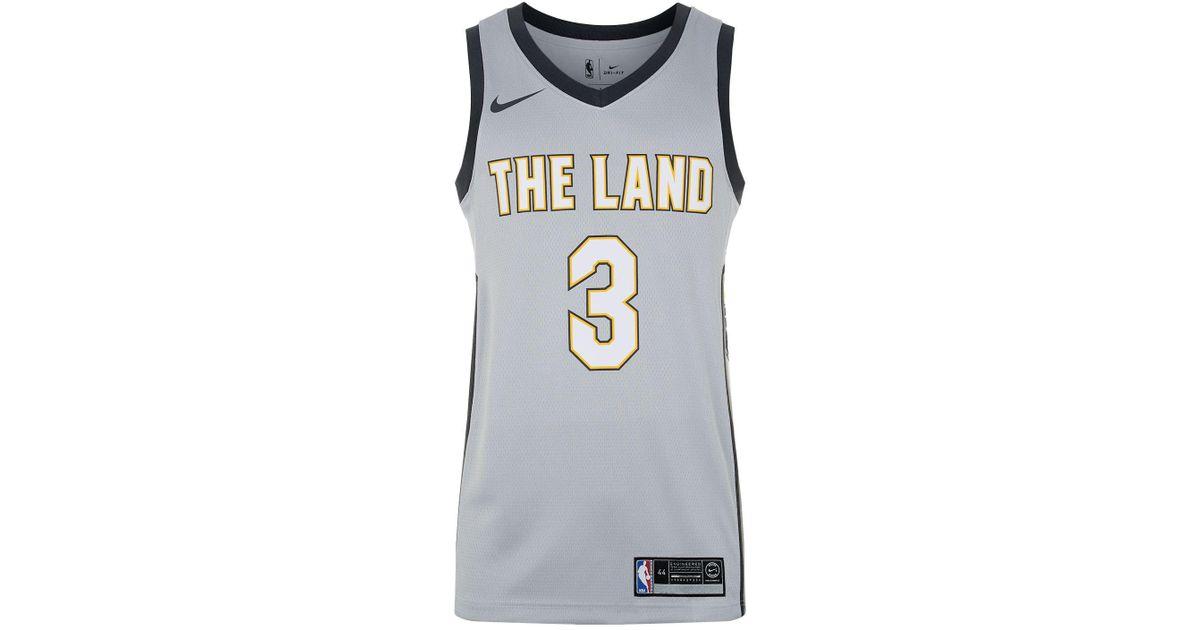 wholesale dealer ed55b 46c3e Nike Metallic Isaiah Thomas Cleveland Cavaliers Basketball Jersey for men
