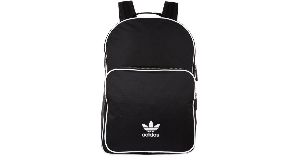 c673baffd2 adidas Originals Adicolor Classic Backpack in Black for Men - Lyst