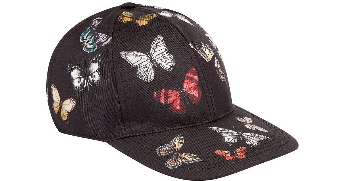 Dolce   Gabbana Butterfly Print Baseball Cap for Men - Lyst 713916dbca1