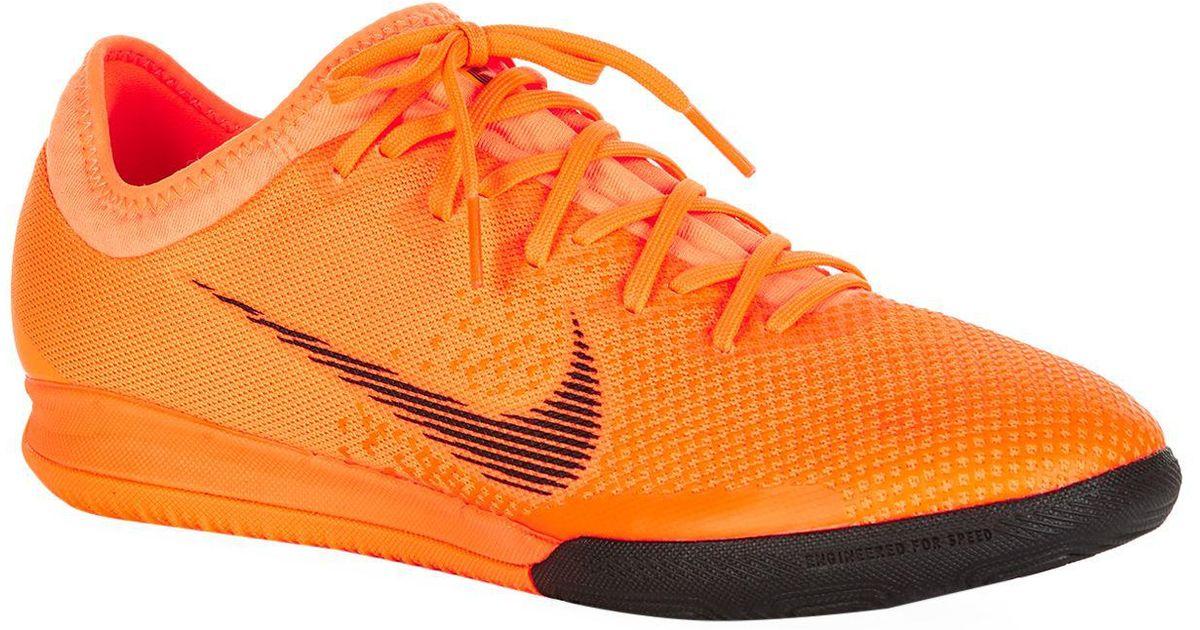 8c107084d8c4 Nike Mercurial Vapor X 12 Pro Football Boots in Orange for Men - Lyst