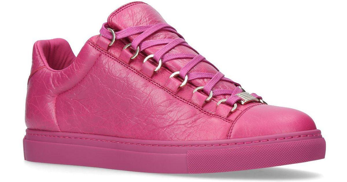 balenciaga arena pink