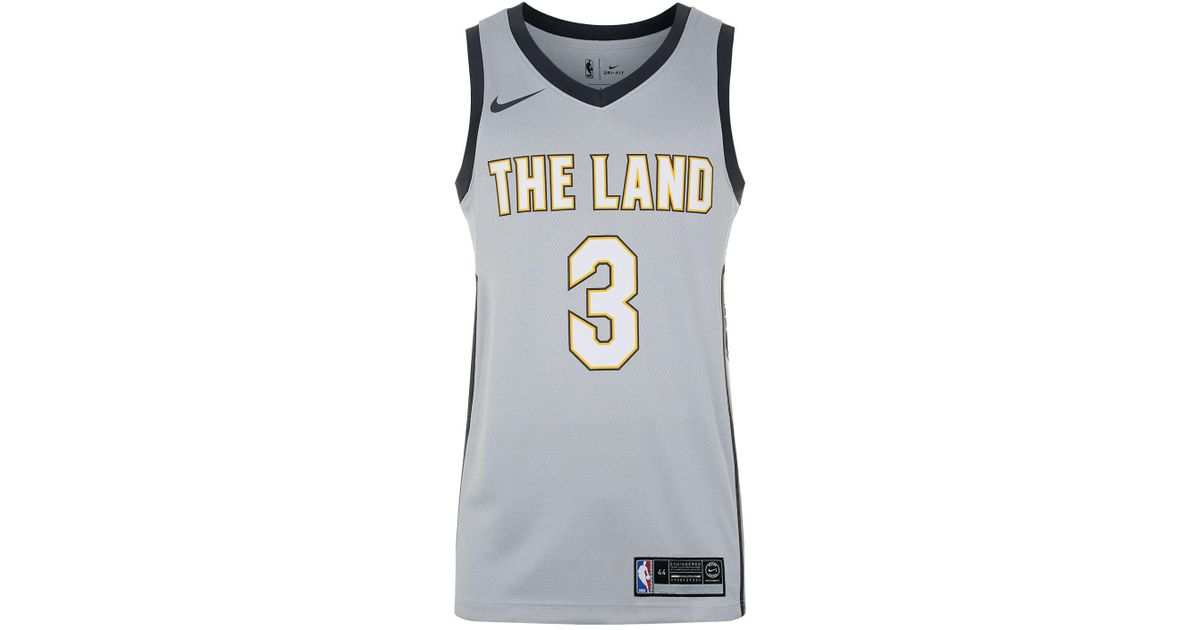 270210ba23c discount code for lyst nike isaiah thomas cleveland cavaliers basketball  jersey in gray 7d274 f0365