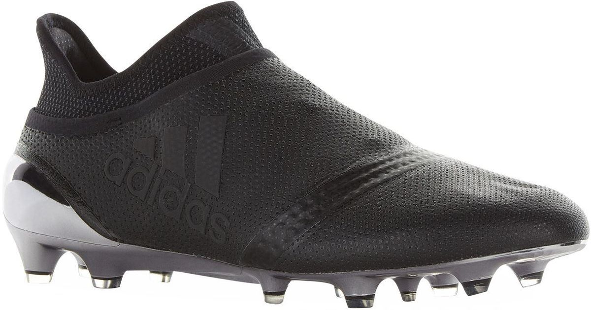 863f403d1 adidas X 17+ Purespeed Firm Ground Football Boots in Black for Men - Lyst