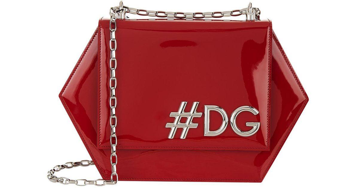 e845d6d7f9 Lyst - Dolce   Gabbana Dg Girls Hexagonal Cross Body Bag