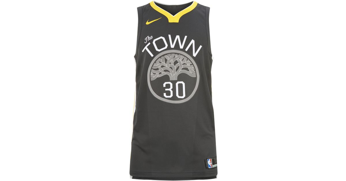new concept be220 41cea Nike Gray Kevin Durant Authentic Golden State Warriors Tank for men