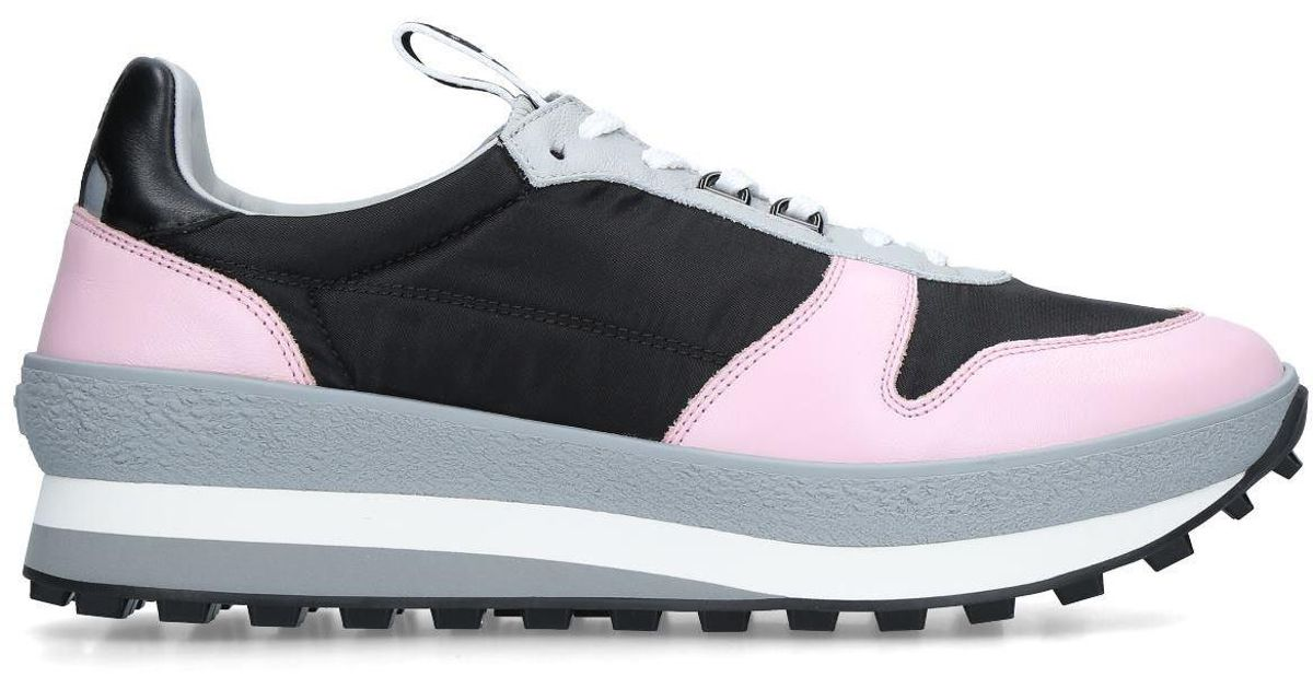 Givenchy Leather T3 Runner Sneakers in