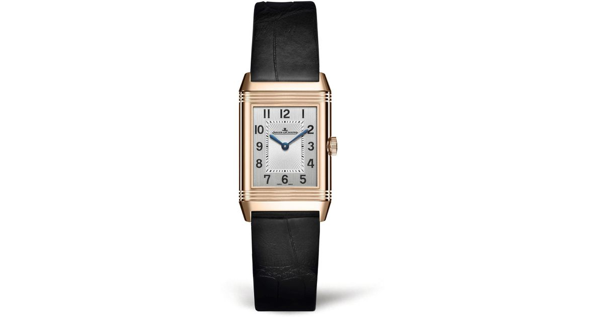 d08df2d800a Jaeger-Lecoultre Reverso Classic Small Duetto Watch in Metallic - Lyst
