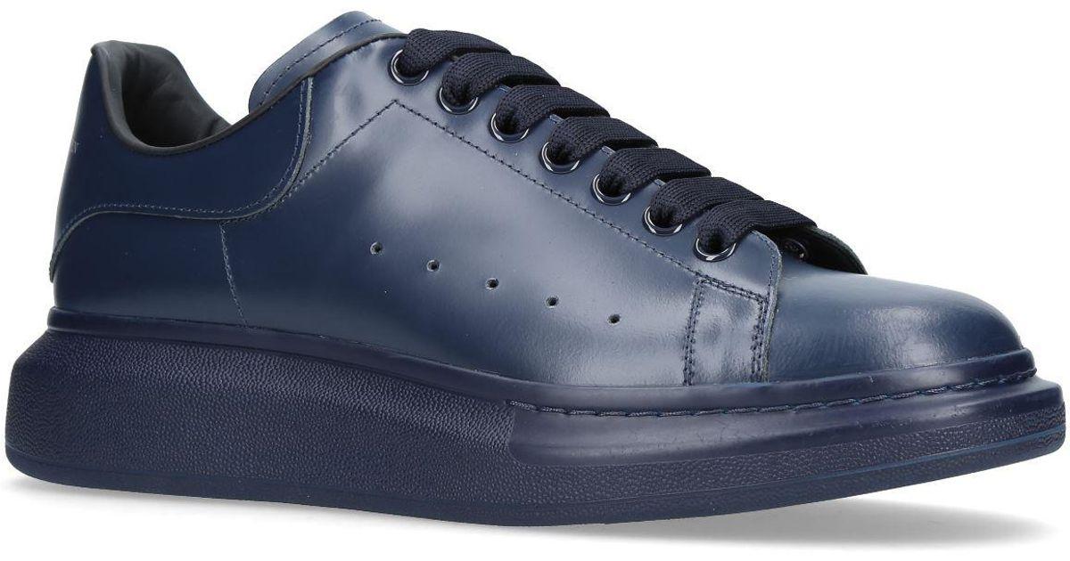 de0f707ce9536 Lyst - Alexander McQueen Tonal Oversized Sneakers in Blue for Men
