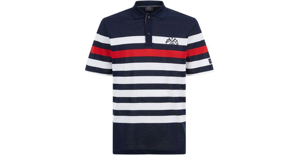 b81e42ad0 Paul & Shark Admiral Polo Shirt in Blue for Men - Lyst