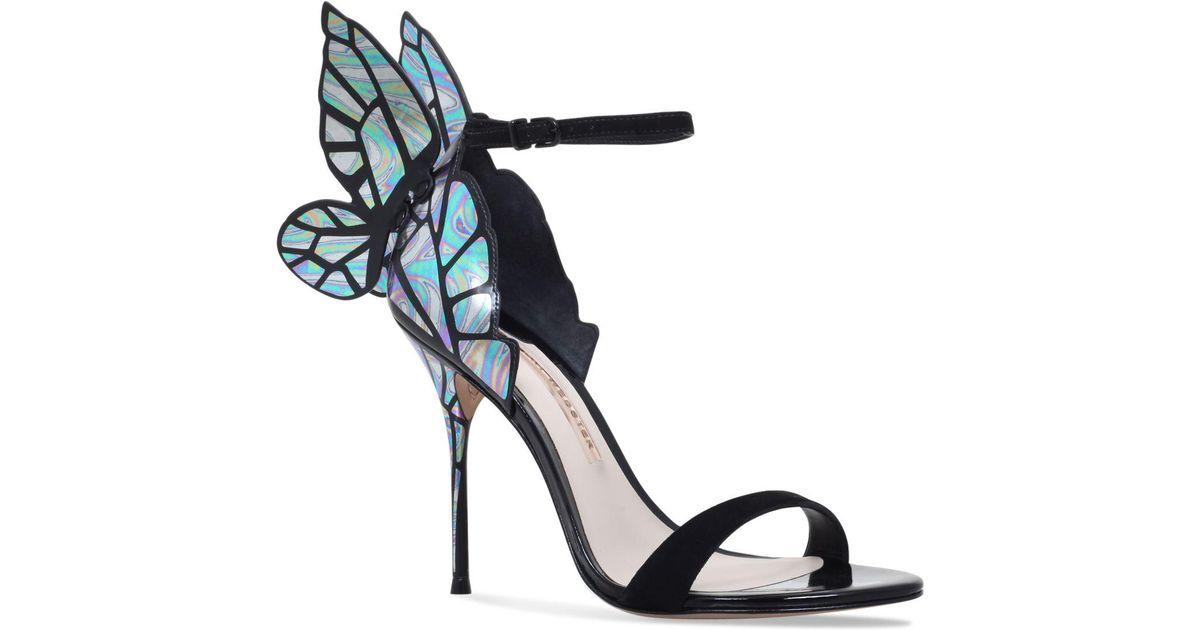 Sophia Webster Suede Chiara Butterfly