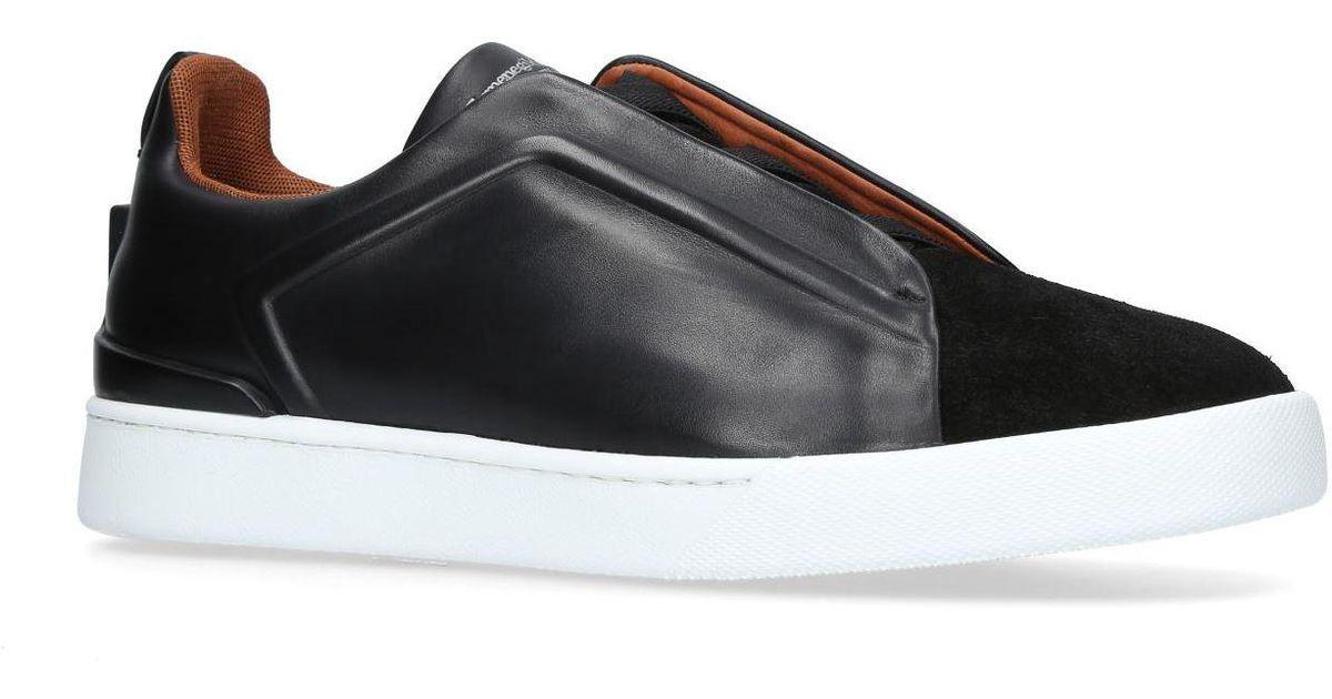Ermenegildo Zegna Leather Couture 3x