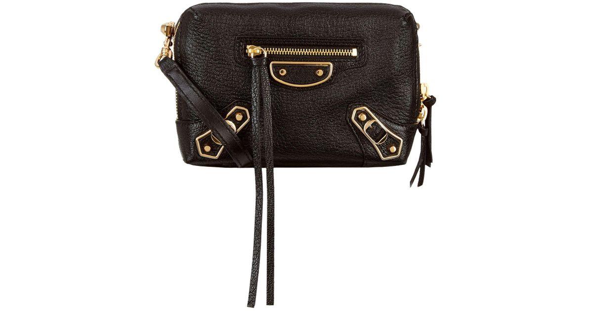 f71bd8811 Balenciaga Reporter Cross Body Bag in Black - Lyst