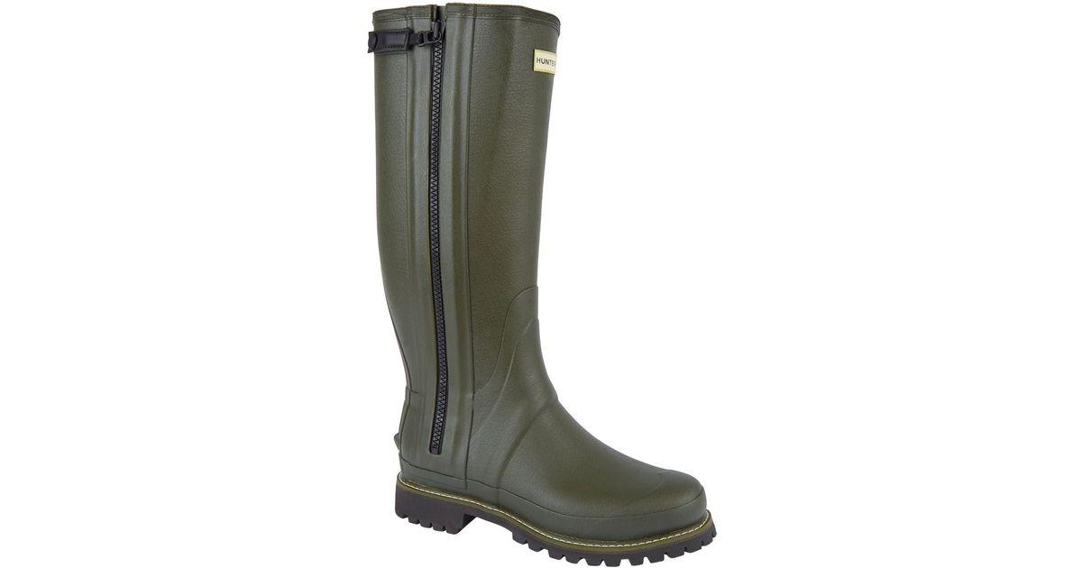 Hunter Balmoral Full Zip Wellington Boots