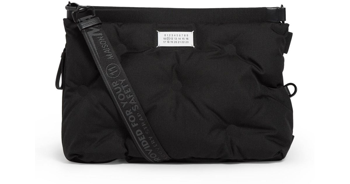 Maison Margiela Black Medium Two Way Grand Slam Bag For Men Lyst