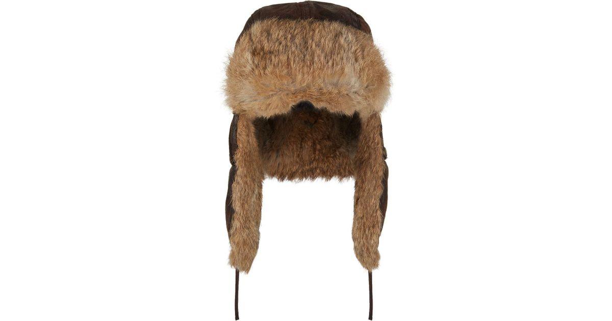 Lyst - Stetson Starkville Aviator Hat in Brown for Men 1120fc51afa