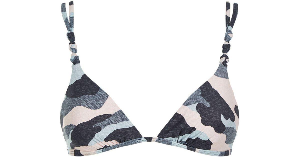 Understand camouflage bikini top know