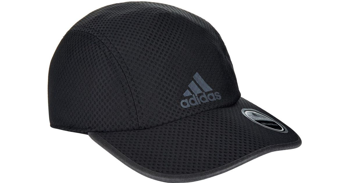 wholesale dealer ed099 e6592 Adidas Black Climacool Running Cap for men