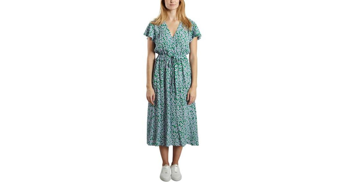 2a4e483172 Tara Jarmon Four Leaf Clover Dress in Green - Lyst