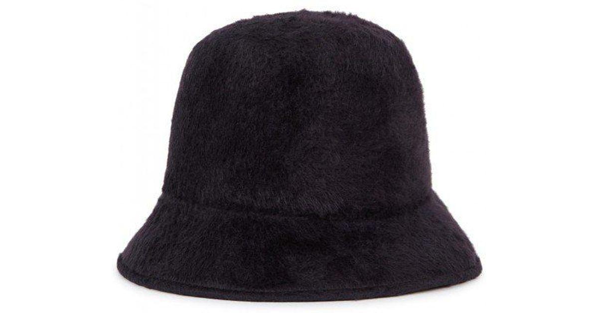 Satya Twena Melo Charcoal Tall Felt Bucket Hat in Gray - Lyst 26682cd9fed