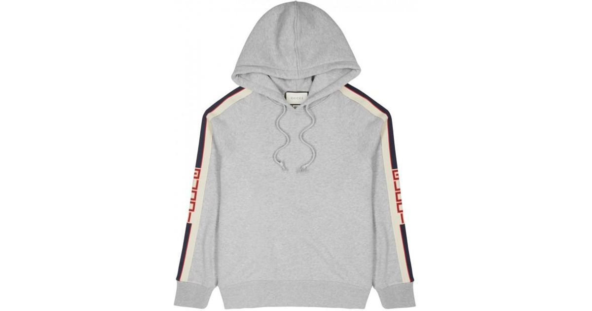 7781034d5f Gucci Gray Striped Cotton Sweatshirt for men