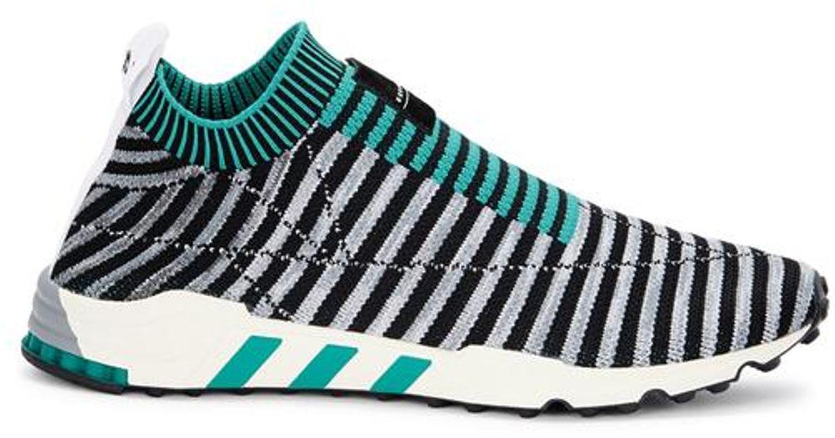 Adidas Originals Eqt Support Originals Primeknit Entrenadores en negro Support en para hombres Lyst 453c25e - hvorvikankobe.website
