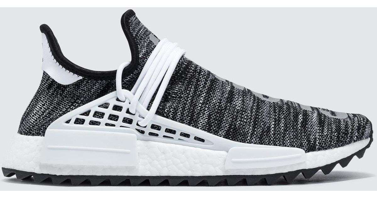 new product 7f1e9 4acfa Adidas Originals Black Pharrell Williams Hu Hiking Human Race Nmd Tr