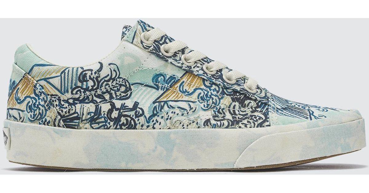 7456125af63f Lyst - Vans Vincent Van Gogh Old Skool in White