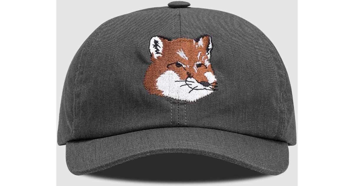 791226c77 Maison Kitsuné Multicolor Cap 6p Fox Head for men
