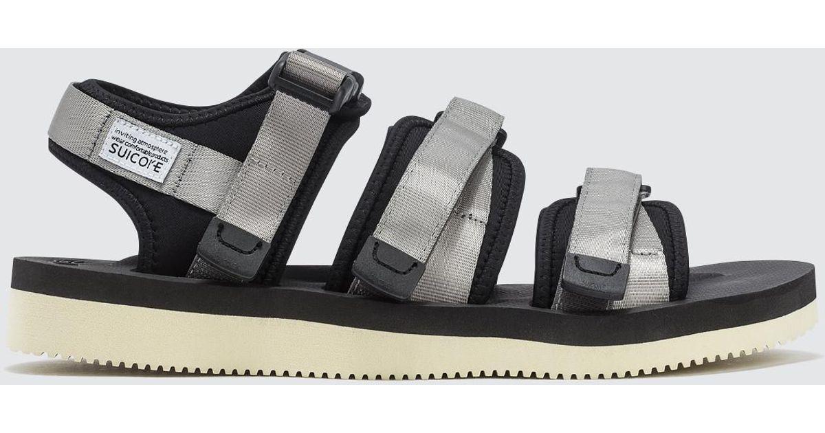 V Suicoke Gga Gray Lyst Sandals Y6b7yfg
