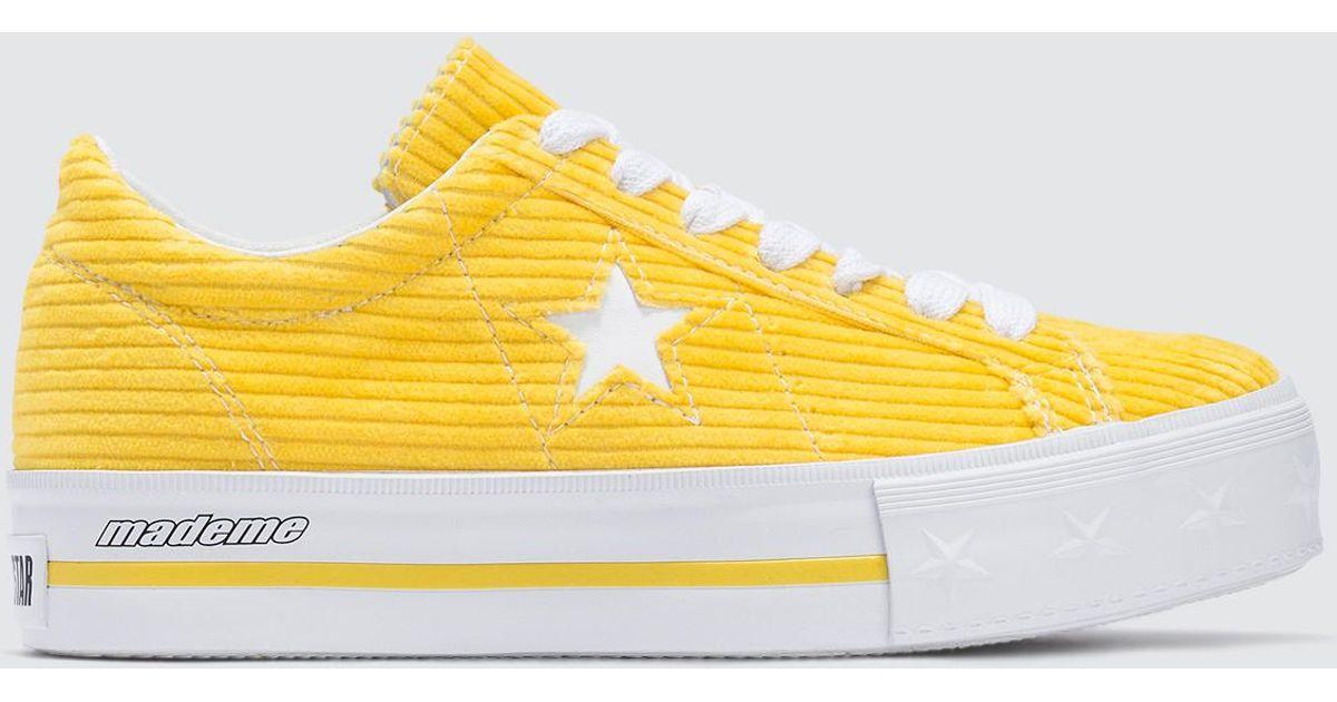 Converse Mademe X Corduroy One Star