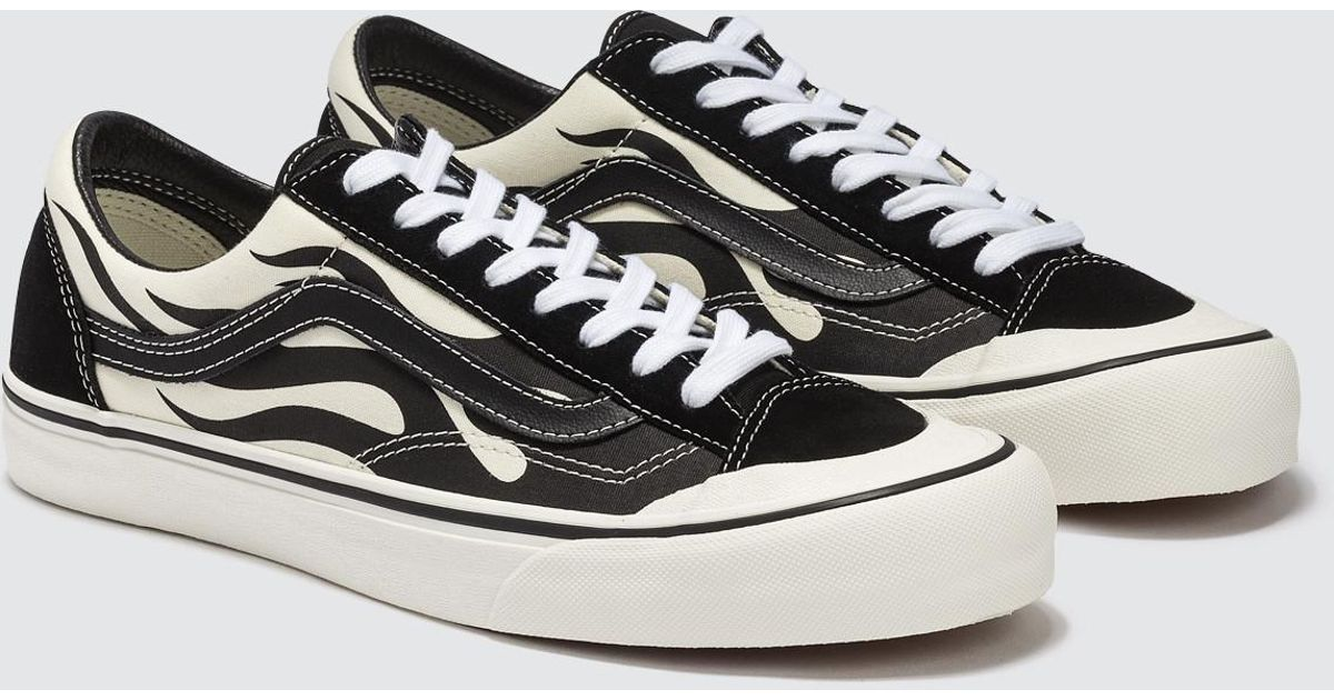 matching in colour value for money shop for Vans Black Flame Style 36 Sf