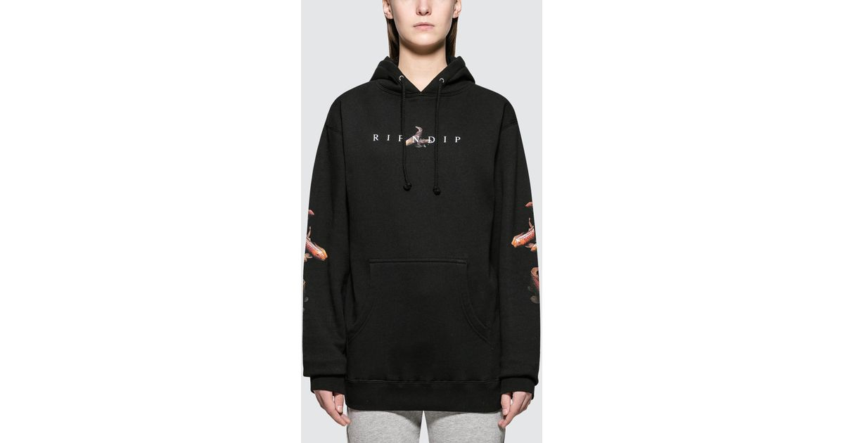 03edd6347bf9 Lyst - RIPNDIP Mother Fish Baby Pullover Sweater in Black