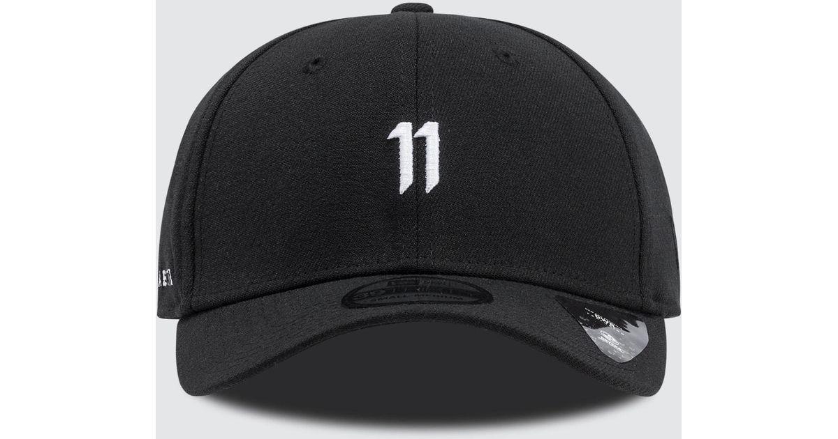 e6cf26ac74b Lyst - Boris Bidjan Saberi 11 39 Thirty Hat in Black for Men