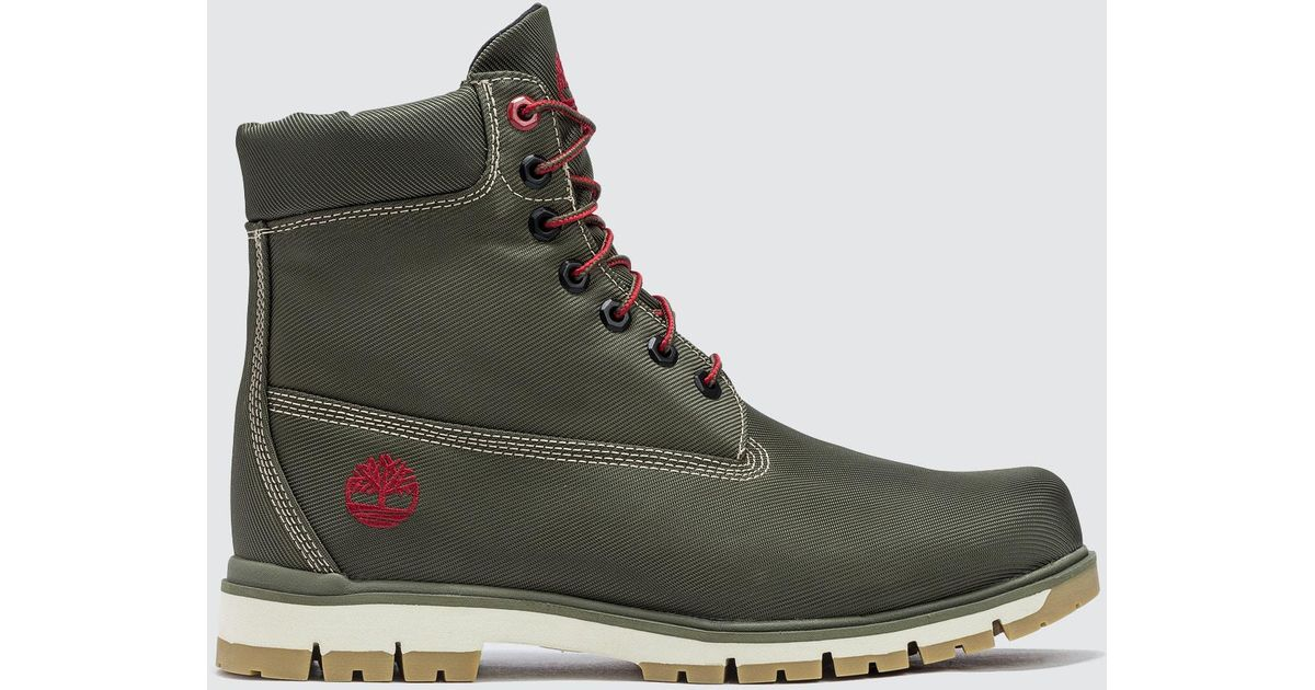 Timberland Radford Canvas Boot in Brown