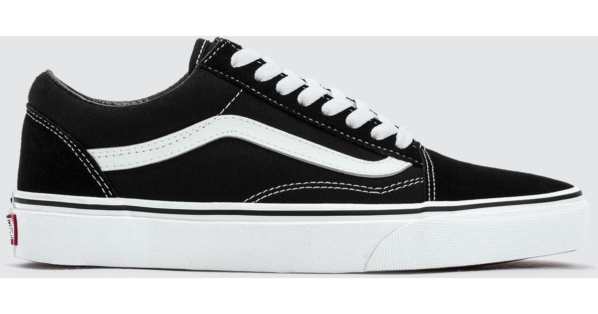 Lyst - Vans Vd3hy28 U Old Skool Men s Shoes (trainers) In Black in Black  for Men 49d38e92f