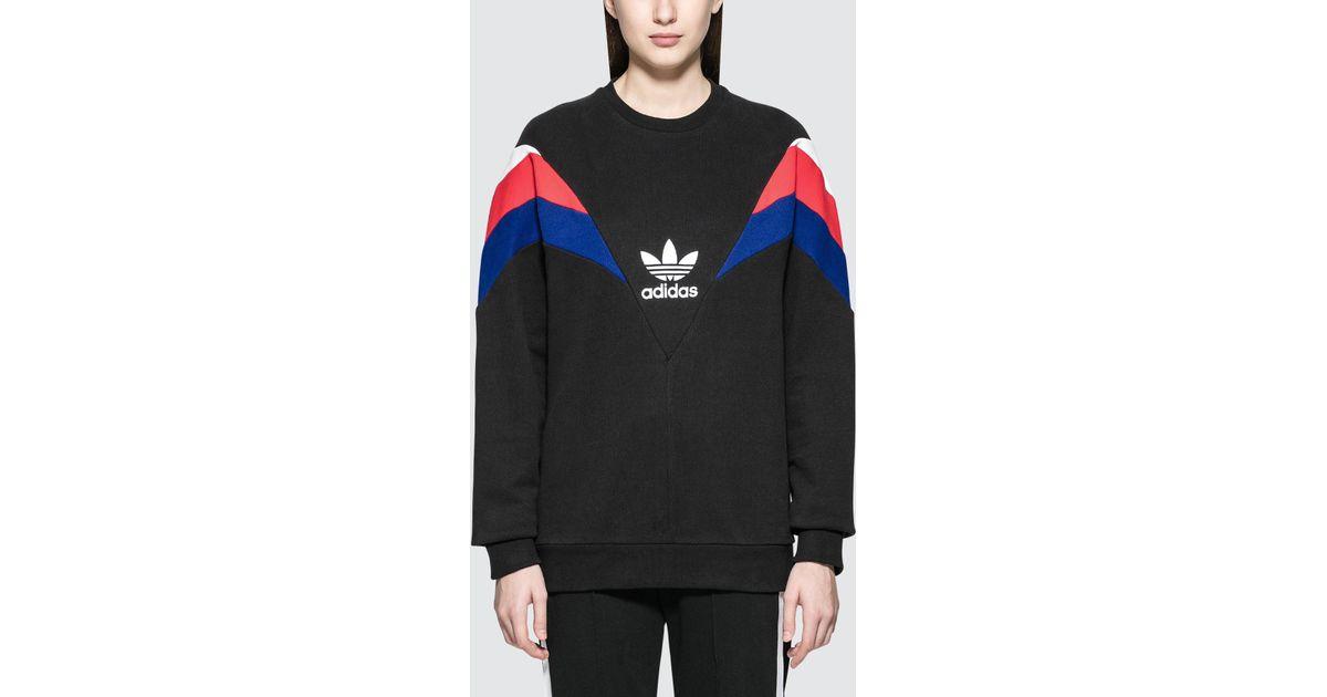 Crew Black In Lyst Adidas Originals Sweatshirt Neva WED2eYH9I