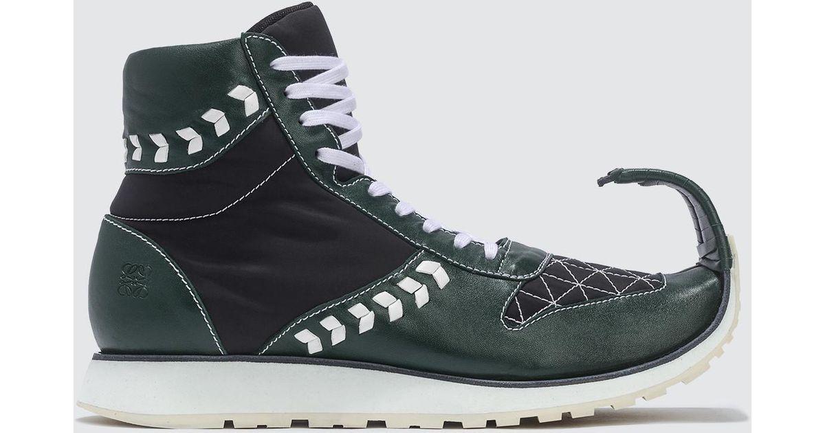 dinosaur high top sneakers
