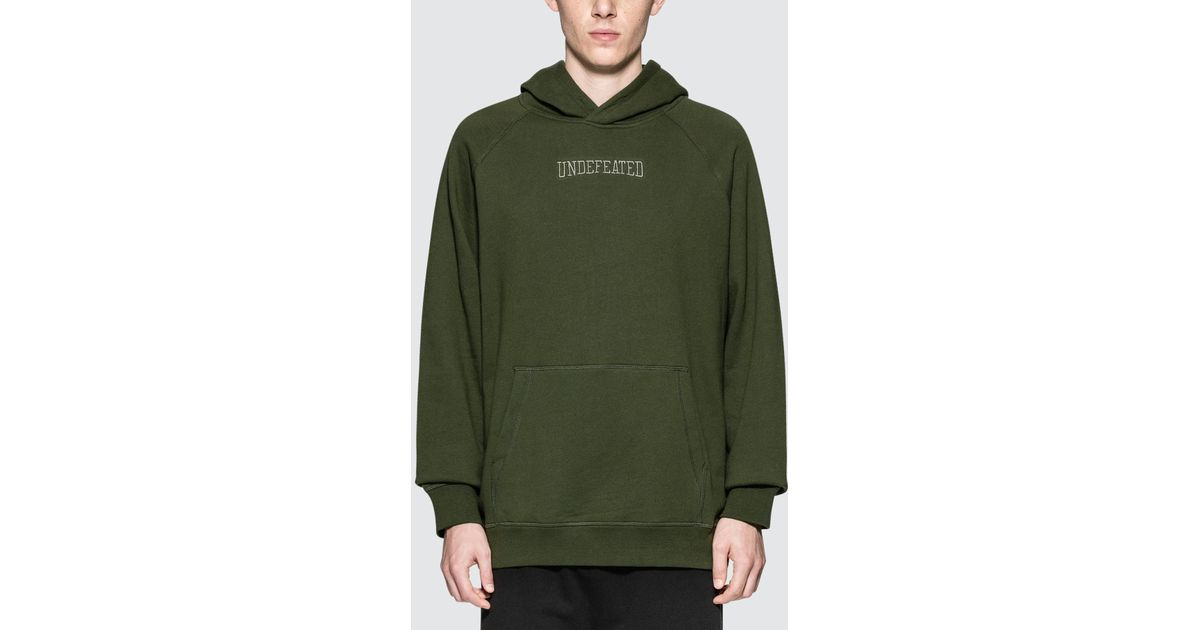 c85ea2c5 Undefeated Nf Pullover Hoodie in Green for Men - Lyst