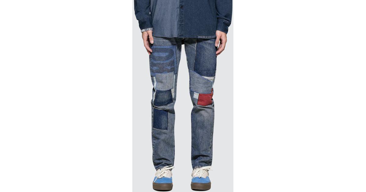 4409a94ffa8 Levi's Community Garden 512 Slim Taper Fit Jeans in Blue for Men - Lyst