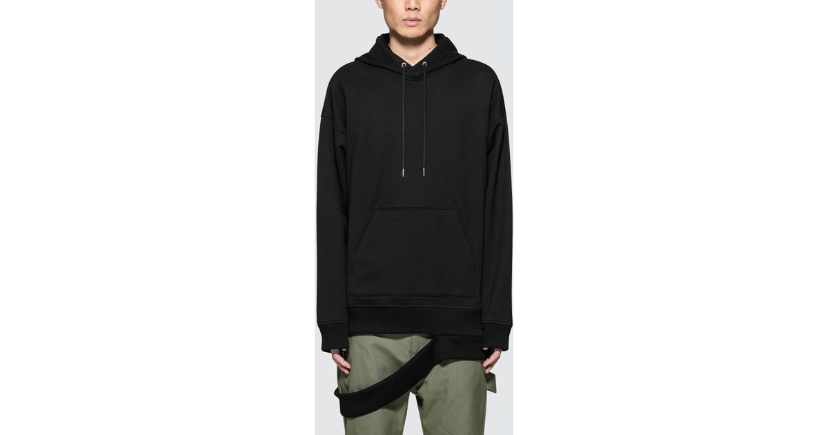 Buy Online Black Hanging Cut Rib Hoodie Helmut Lang Low Shipping Cheap Online Cheap Best Place r23xI3j