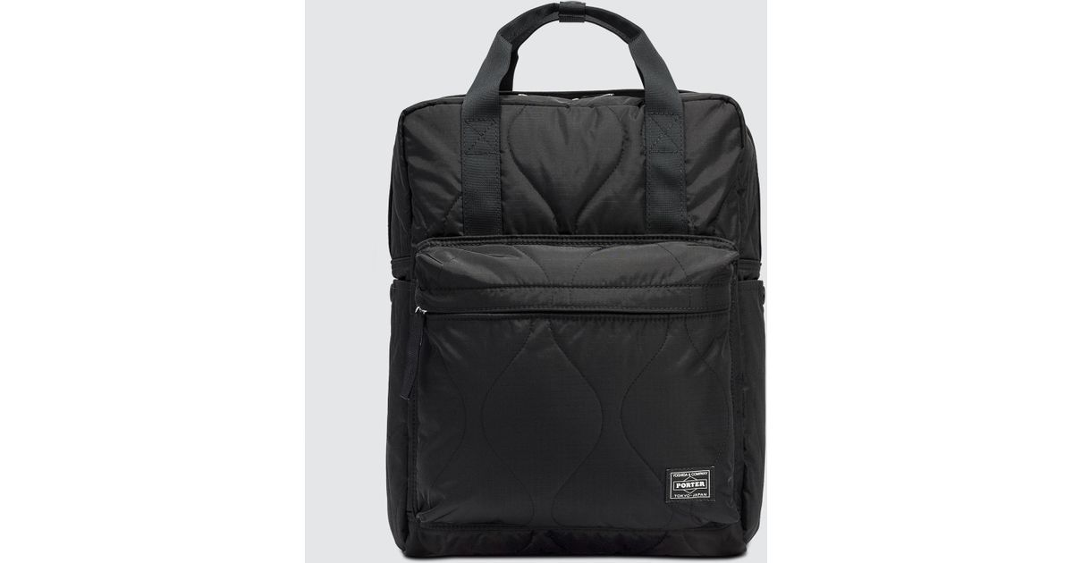 895aaa8a97a5 Head Porter - Black Clayton 2 Way Bag for Men - Lyst