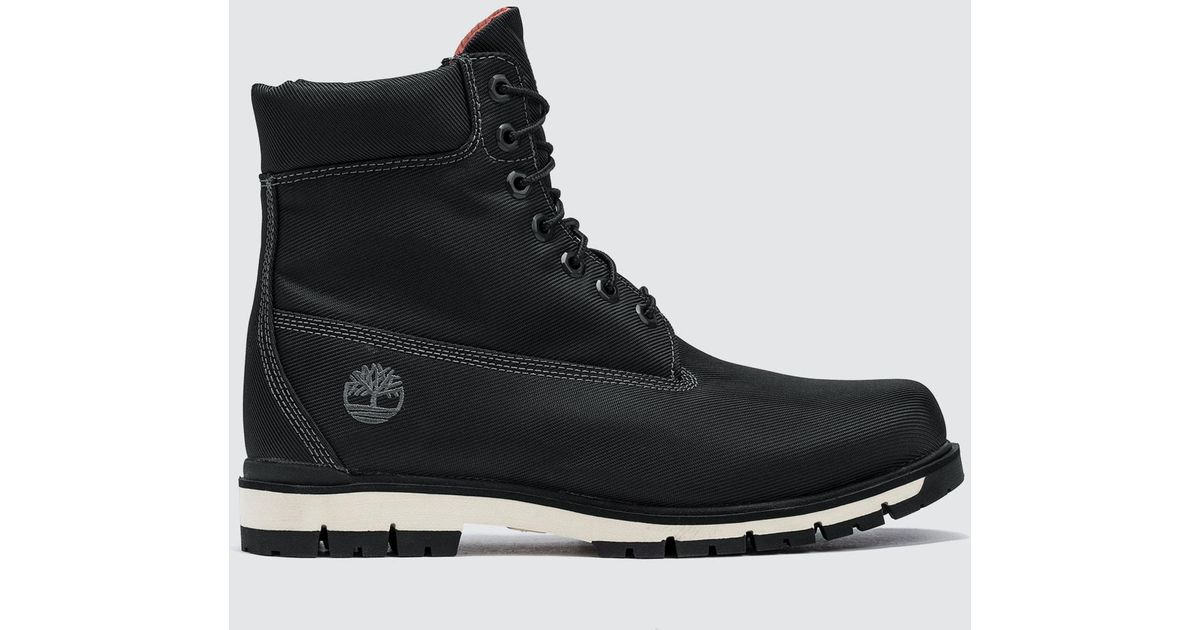 067e2326a52 Timberland Black Radford Canvas Boot for men
