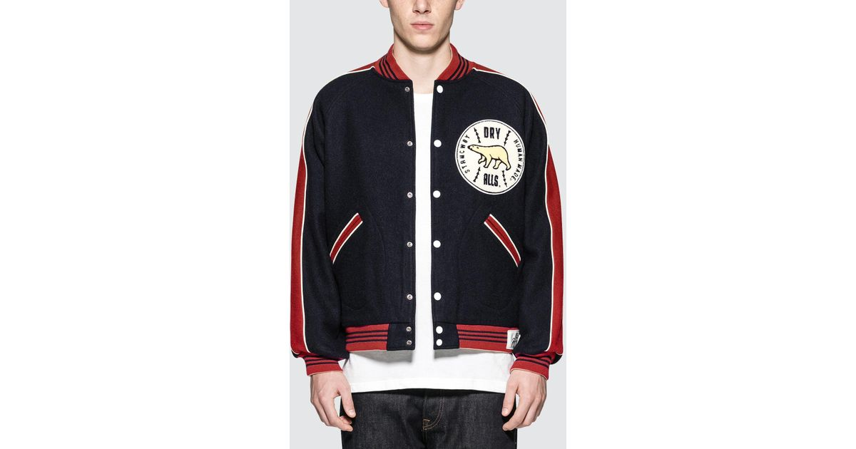 Human Made Car Club Jacket In Blue For Men Lyst