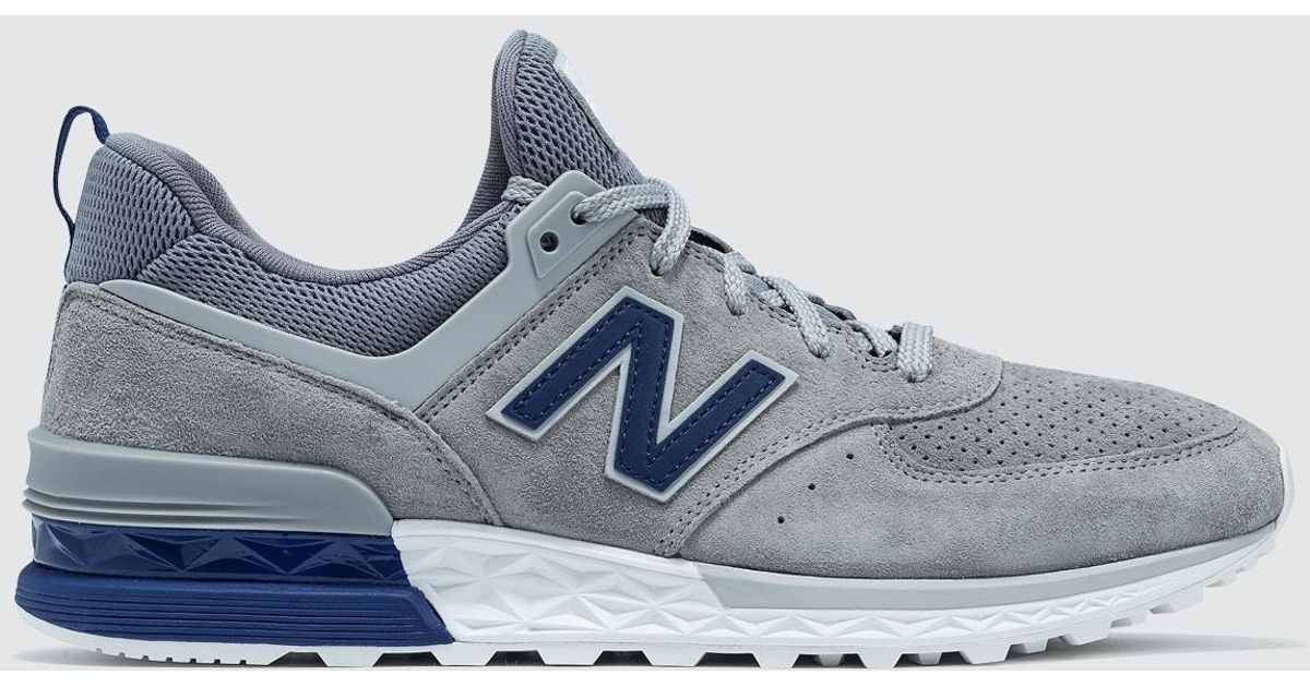 New Balance Gray 574s Premium for men