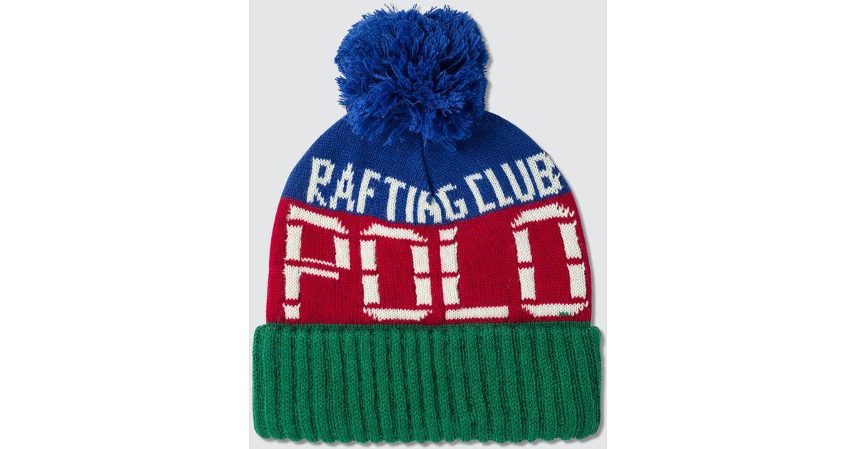 bd823fde1 Polo Ralph Lauren Green Hi Tech Cuff Hat for men