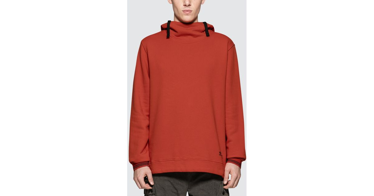 huge discount special section look good shoes sale Adidas Originals Orange Cp Company X Adidas Hoodie for men