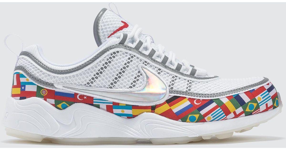 eae2027ab952 Lyst - Nike Air Zoom Spiridon  16 Nic Qs in White for Men