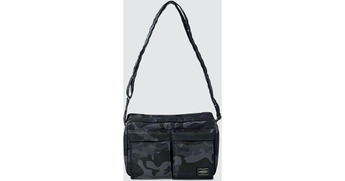 8cc9456bc23a Head Porter - Black Jungle Shoulder Bag (s) - Lyst